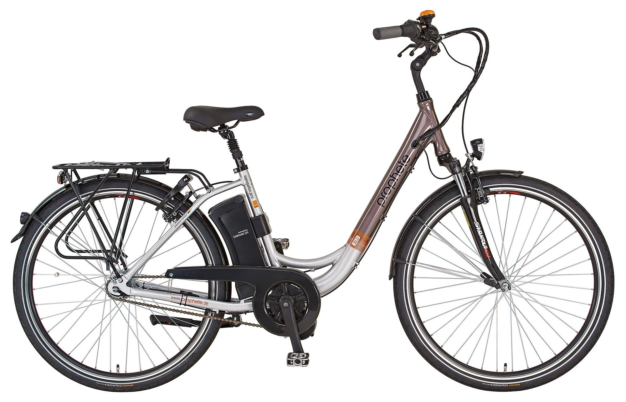 Prophete E-Bike City, 28 Zoll, 7 Gang Shimano Nexus Nabenschaltung, »Navigator Pro«