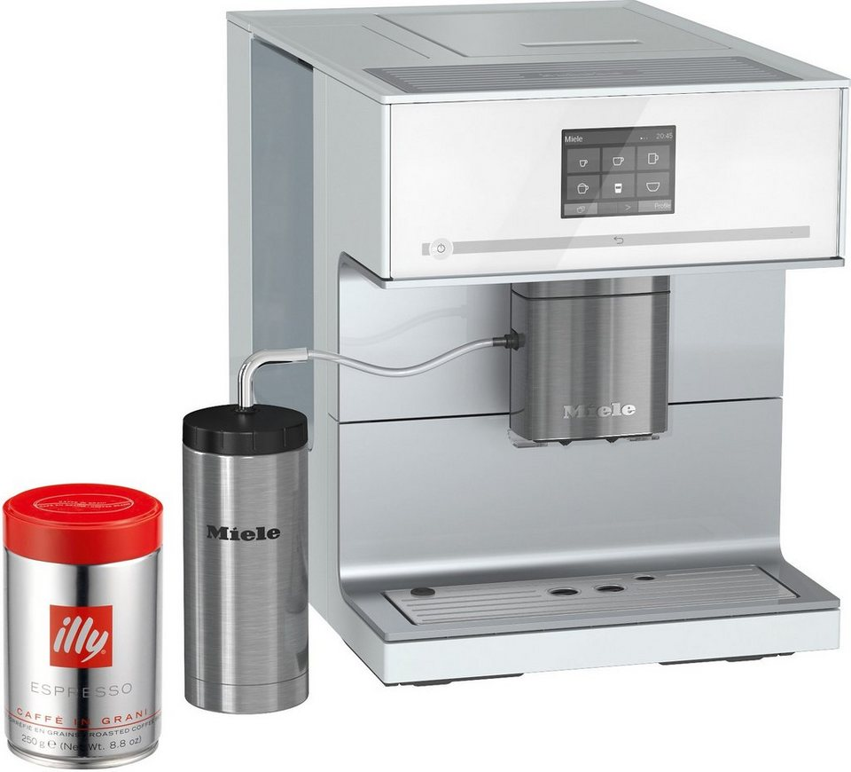 miele stand kaffeevollautomat cm 7300 inkl edelstahl thermo milchbeh lter online kaufen otto. Black Bedroom Furniture Sets. Home Design Ideas