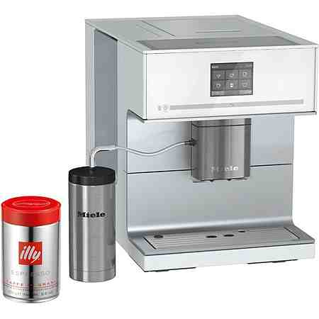 Miele Stand-Kaffeevollautomat CM 7300, inkl. Edelstahl-Thermo-Milchbehälter