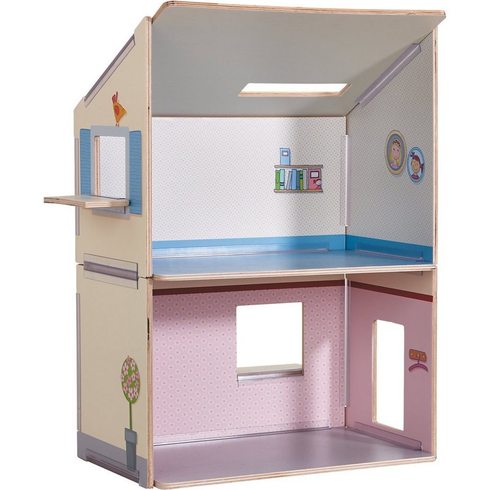 haba 300504 puppenhaus little friends traumhaus otto. Black Bedroom Furniture Sets. Home Design Ideas