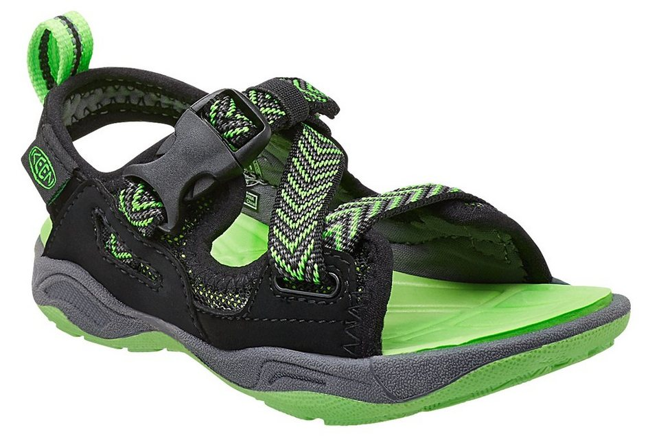 Keen Sandalen »Rock Iguana Sandals Youth« in schwarz