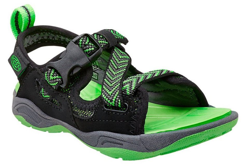 Keen Sandalen »Rock Iguana Sandals Children« in schwarz