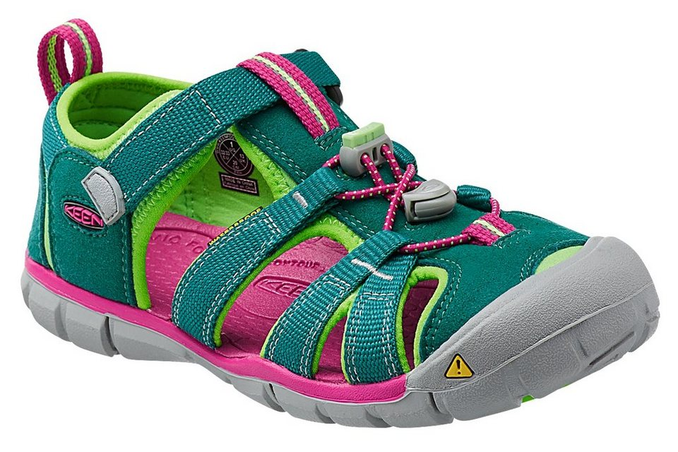 Keen Sandalen »Seacamp II CNX Sandals Children« in grün