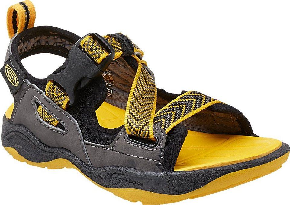 Keen Sandalen »Rock Iguana Sandals Children« in schwarz