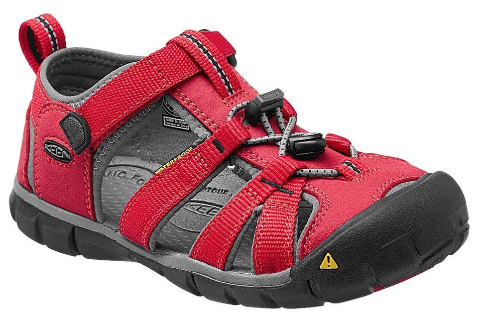 Keen Sandalen »Seacamp II CNX Sandals Children« in rot