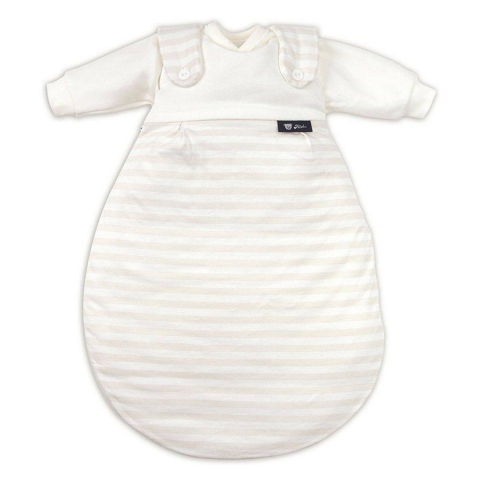 ALVI Ganzjahresschlafsack Baby-Mäxchen in weiß