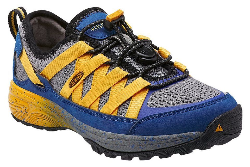 Keen Halbschuhe »Versatrail Shoes Youth true blue/ yellow« in blau