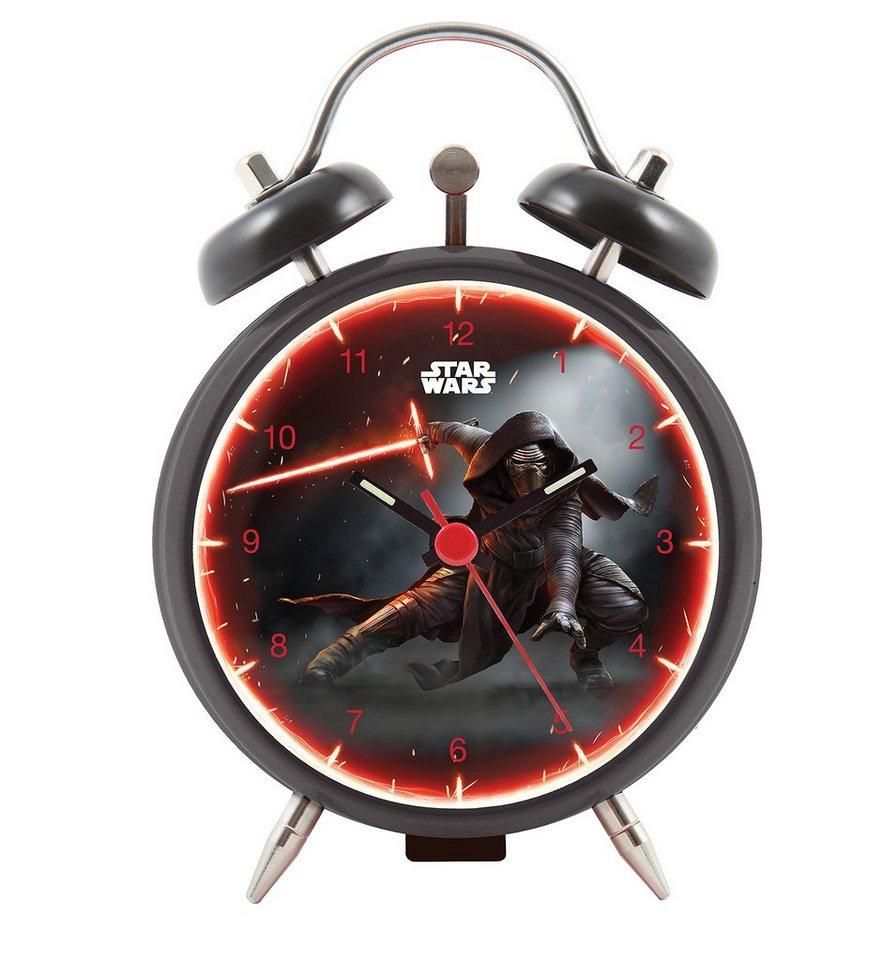 Star Wars Wecker, »27381« in schwarz-grau