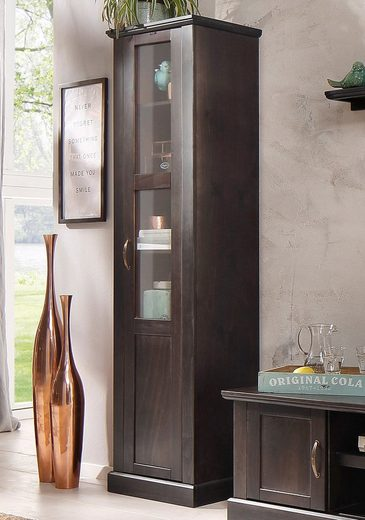 home affaire vitrine mika h he 180 cm kaufen otto. Black Bedroom Furniture Sets. Home Design Ideas