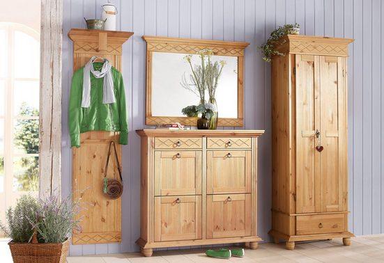 Home affaire Garderoben-Set »Helma«, (Set, 4-St)