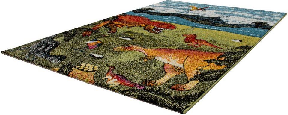 Kinder-Teppich, Lalee, »Amigo 318«, gewebt in dino