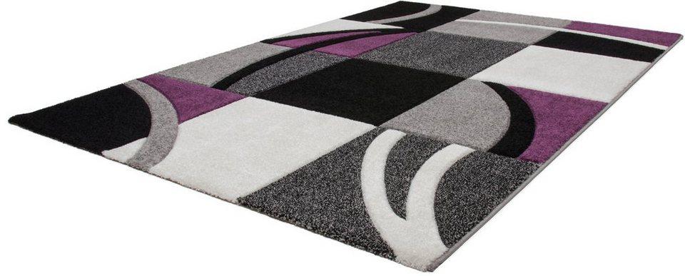 Teppich, Lalee, »Havanna 421«, gewebt in lila