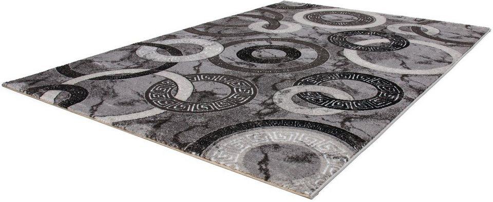 Teppich, Lalee, »Princess 186«, gewebt in silber