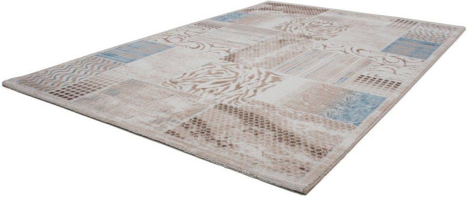 Teppich, Lalee, »Empera 741«, gewebt in blau