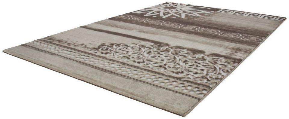 Teppich, Lalee, »Aura 780«, gewebt in beige