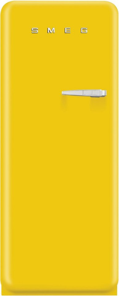 Smeg Kühlschrank FAB28LG1, Energieklasse A++, Höhe: 151 cm in Sonnengelb
