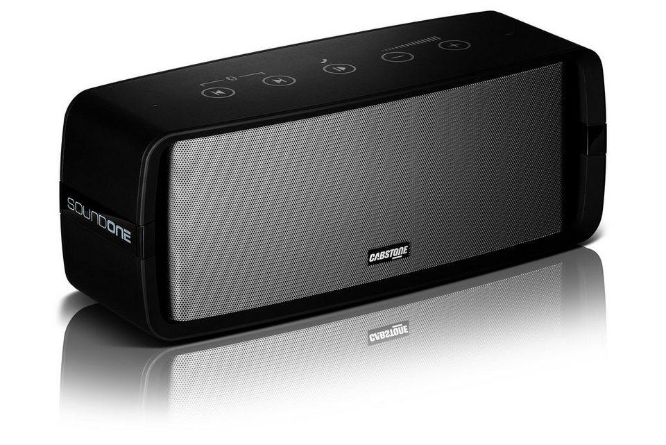 Cabstone Bluetooth-Lautsprecher »SoundOne für raumfüllenden Sound« in schwarz
