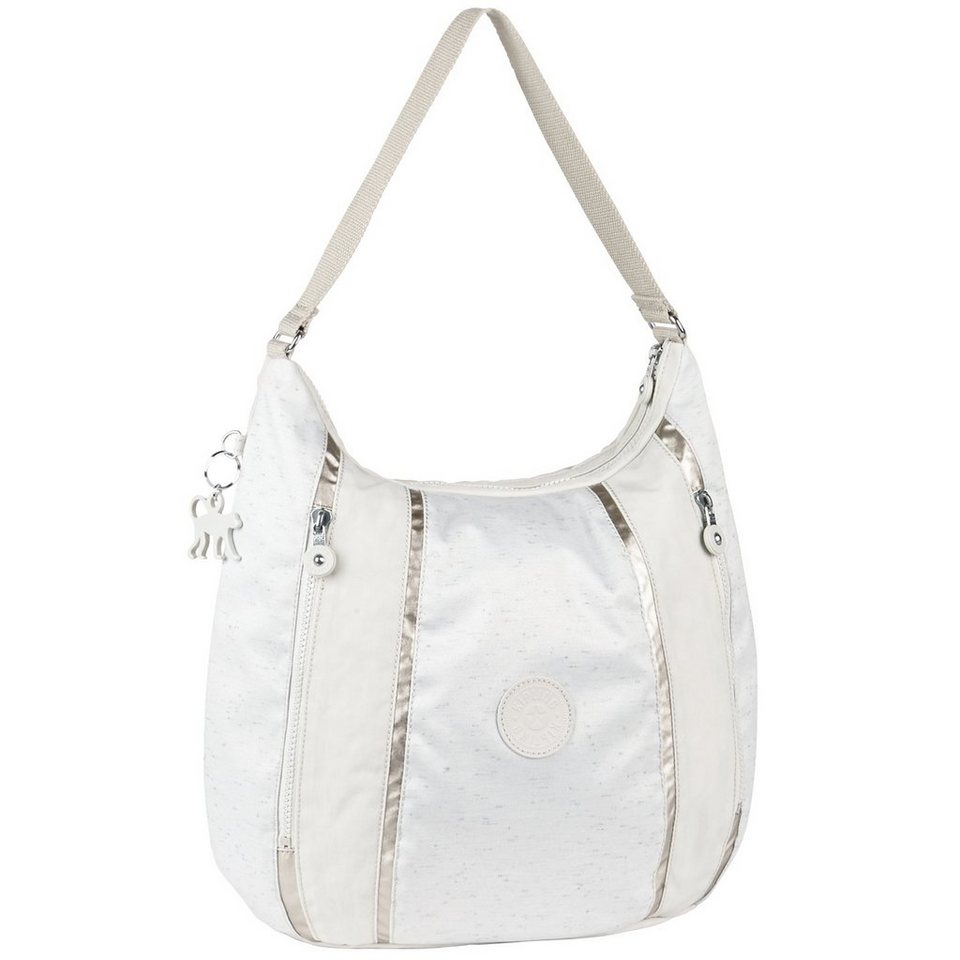 Kipling Basic Plus Capsule Anjelica BPC Schultertasche 40 cm in winter white