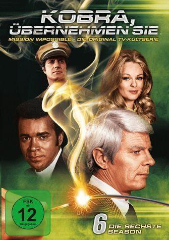 DVD »Kobra, übernehmen Sie! - Die sechste Season (6...«