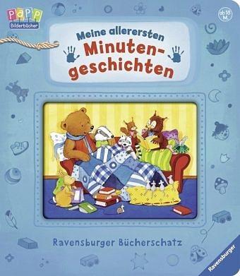 Buch mit Papp-Einband »Meine allerersten Minutengeschichten«