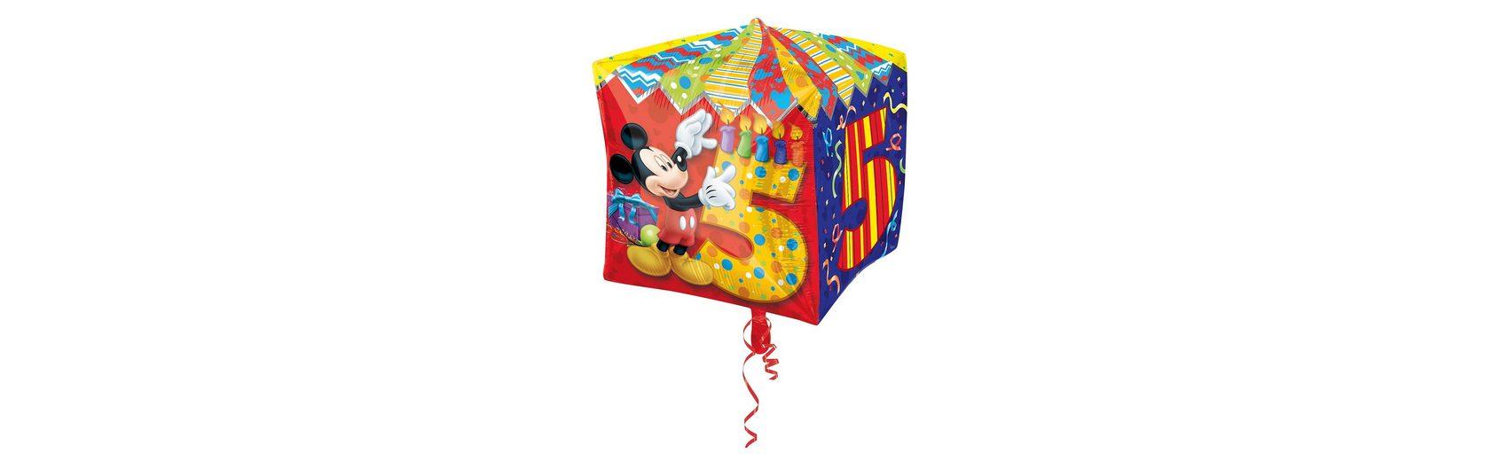Amscan Folienballon Mickey Maus Zahl 5