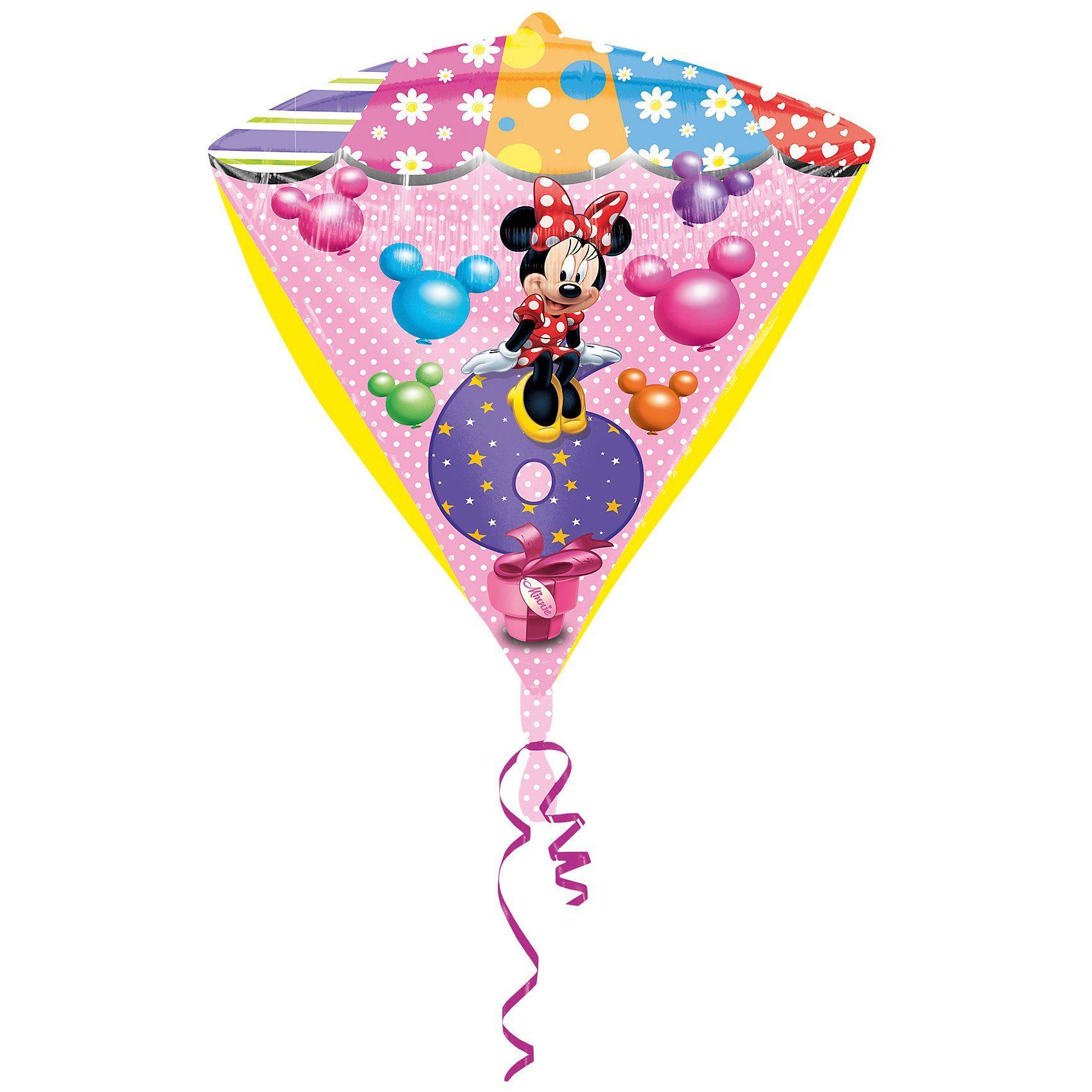 Amscan Folienballon Minnie Maus Zahl 6