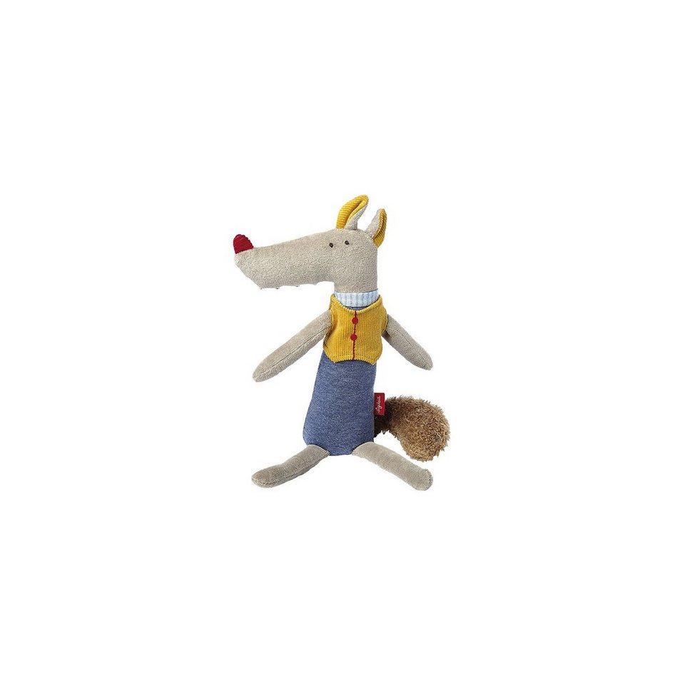 sigikid Langbeine: Greifling Wolf, 21 cm