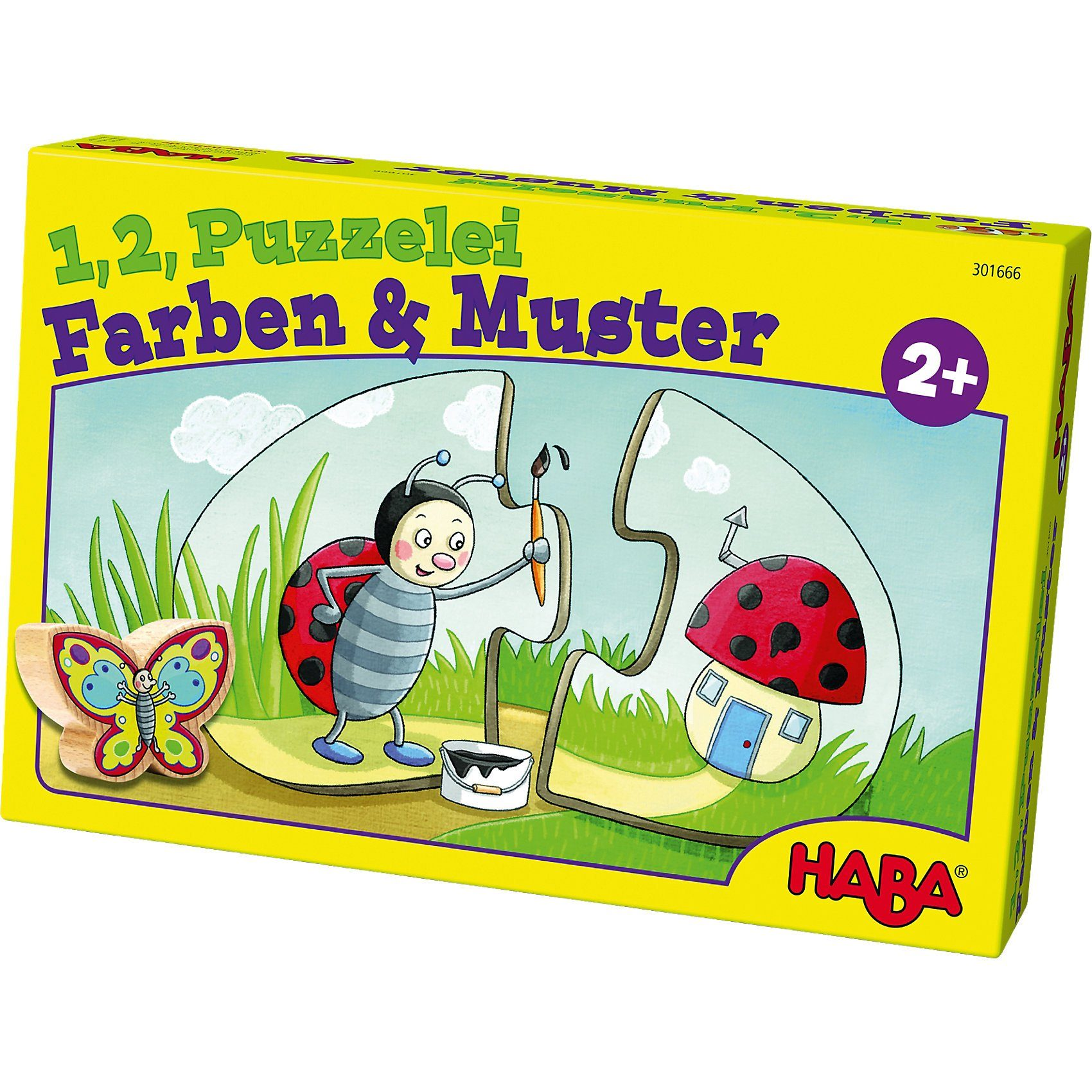 Haba 1, 2, Puzzelei - Farben & Muster