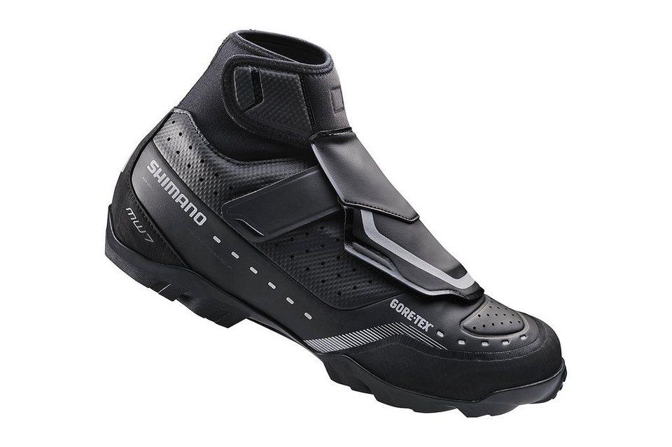 Shimano Fahrradschuhe »SH-MW7 Schuhe Unisex« in schwarz
