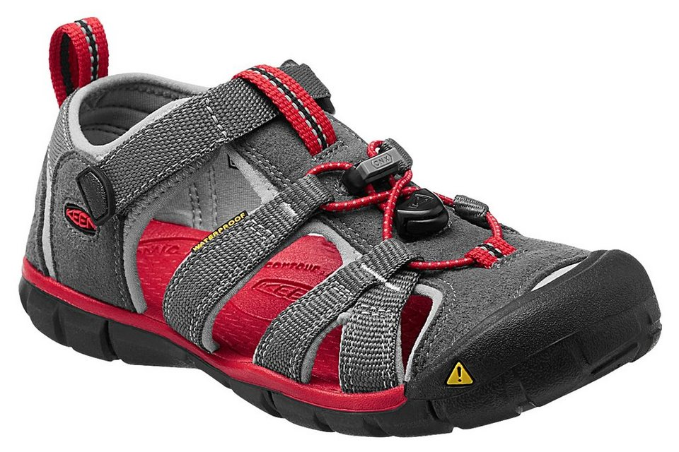 Keen Sandalen »Seacamp II CNX Sandals Youth« in grau