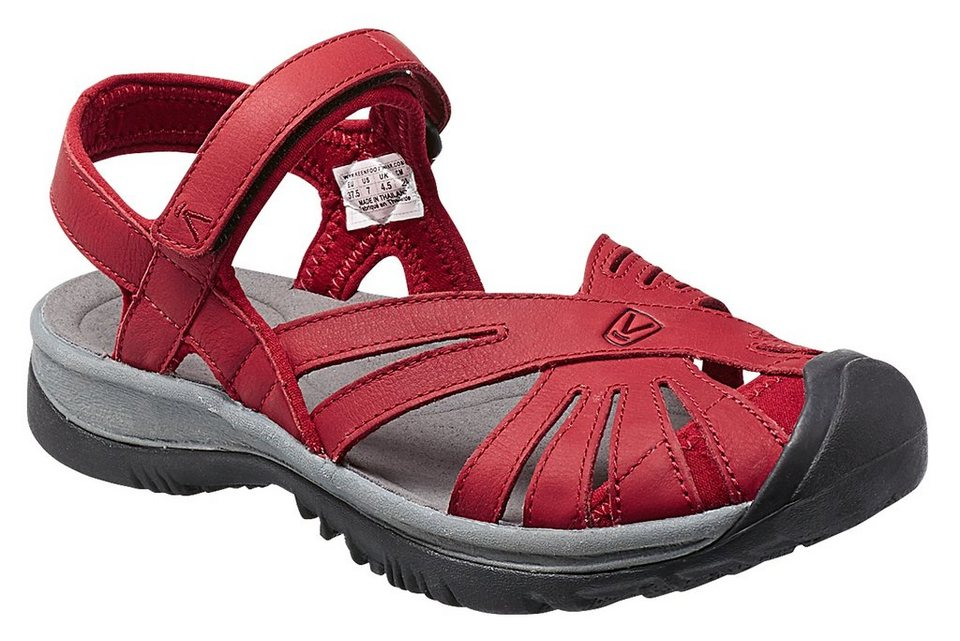 Keen Sandale »Rose Leather Sandals Women« in rot