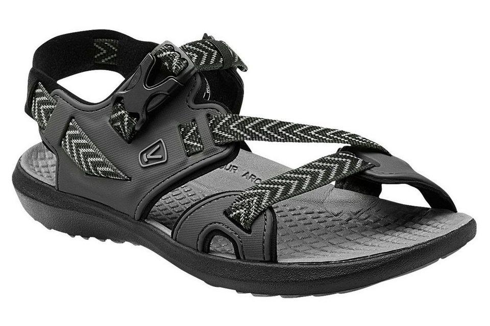 Keen Sandale »Maupin Sandals Men« in schwarz