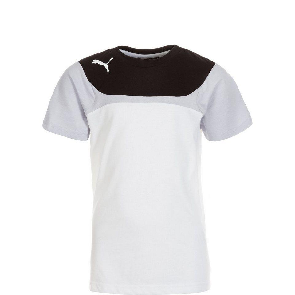 PUMA Esito 3 Leisure Trainingsshirt Kinder in weiß / schwarz