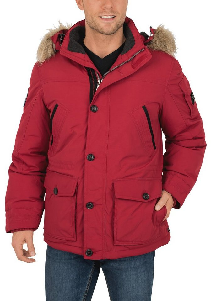 Redpoint Between-Blouson »Shawn« in red