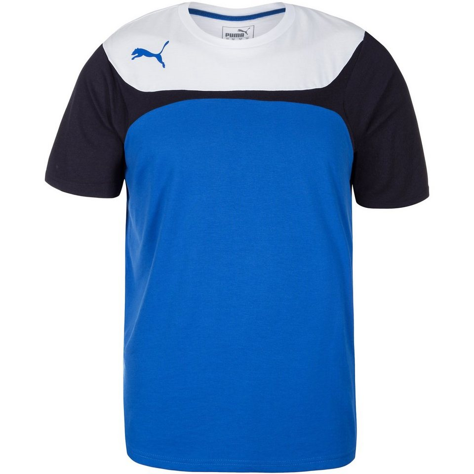 PUMA Esito 3 Leisure Trainingsshirt Herren in blau / weiß