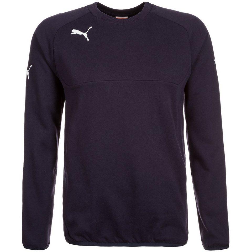 PUMA Leisure Sweatshirt Herren in dunkelblau / weiß