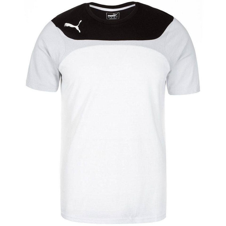 PUMA Esito 3 Leisure Trainingsshirt Herren in weiß / schwarz