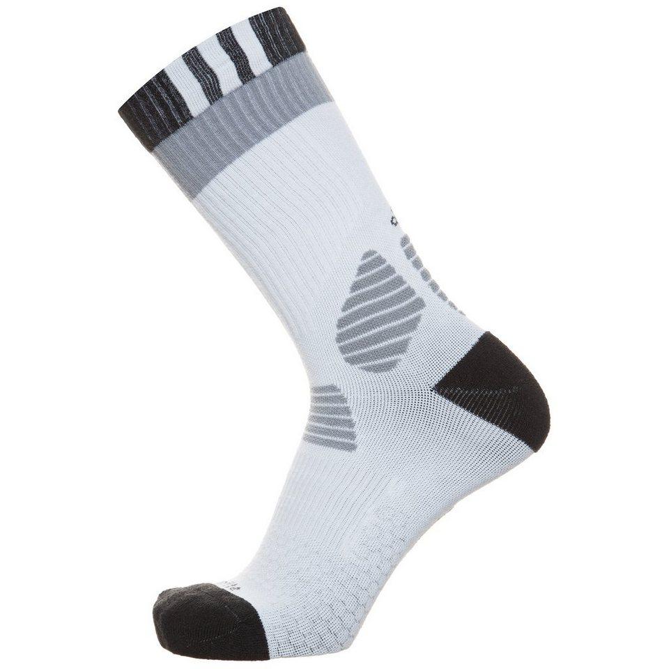 adidas Performance ClimaLite ID Comfort Socken in weiß / schwarz / gra