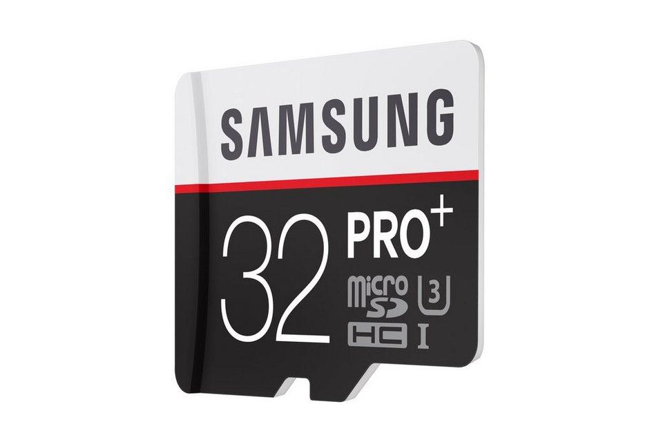 Samsung Speicherkarte mit Adapter »32GB micro SDHC Card Class 10 - PRO+«