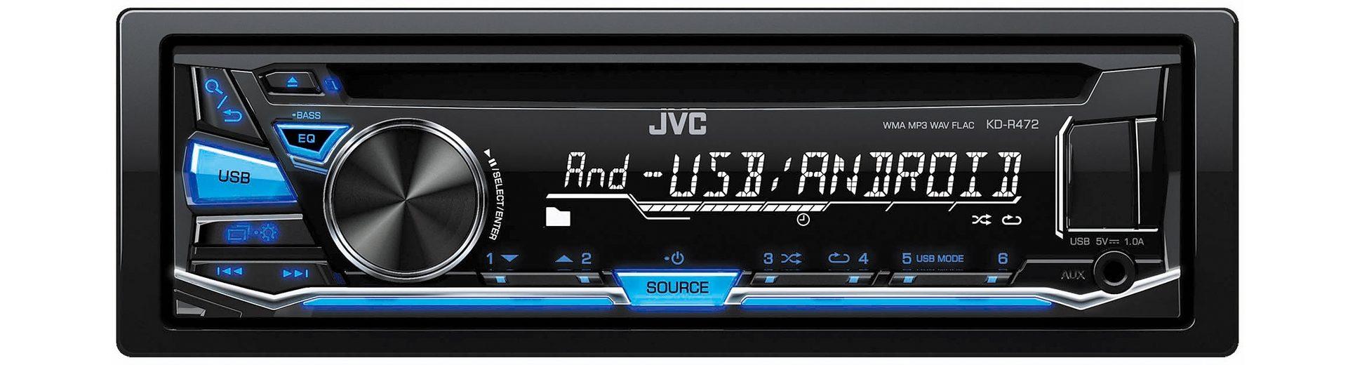 JVC 1-DIN CD-Receiver »KD-R472E«