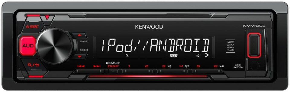 Kenwood 1-DIN Digital Media Receiver »KMM-202« in schwarz