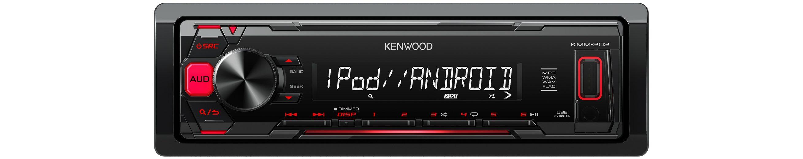 Kenwood 1-DIN Digital Media Receiver »KMM-202«