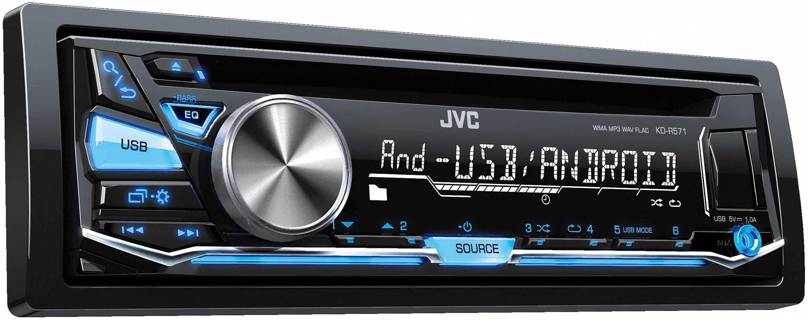 JVC 1-DIN Autoradio »KD-R571E«