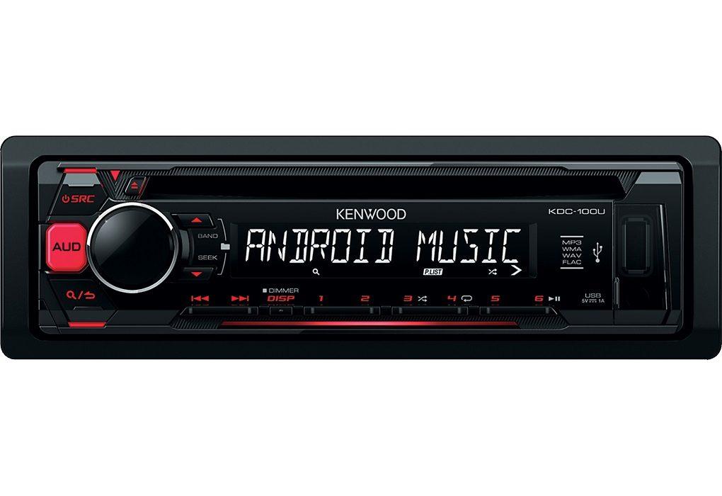 Kenwood 1-DIN Digitalautoradio »KDC100UR«