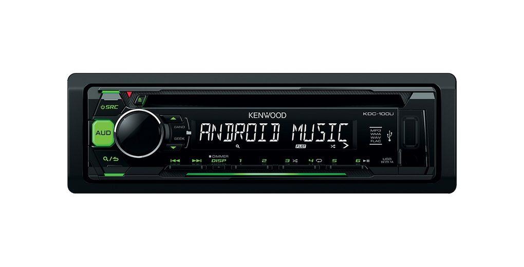 Kenwood 1-DIN Digitalautoradio »KDC100UG«
