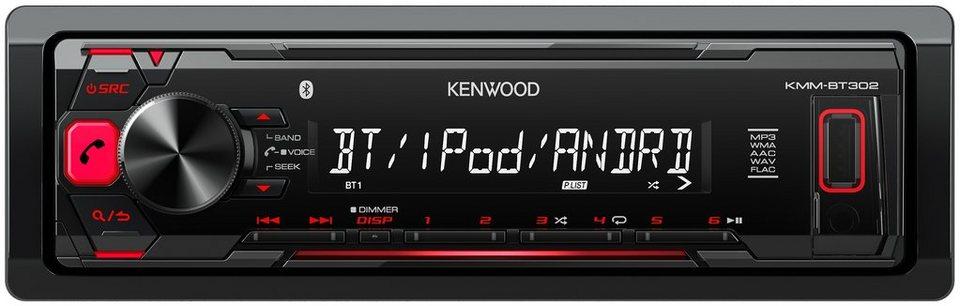 Kenwood 1-DIN Digital Media Receiver »KMM-BT302« in schwarz
