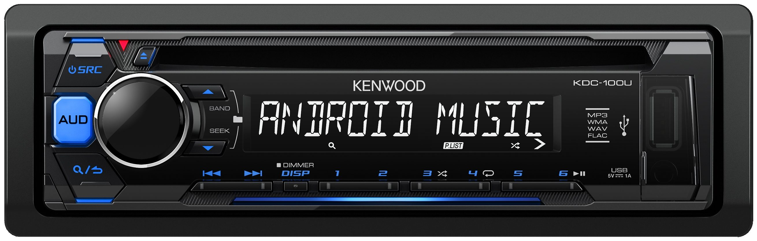 Kenwood 1-DIN Digitalautoradio »KDC100UB«