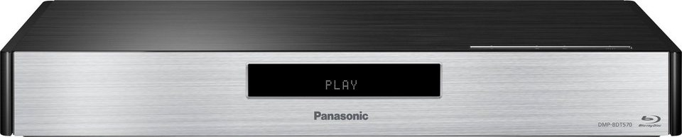 Panasonic Blu Ray Player »DMP-BDT570EG« in schwarz