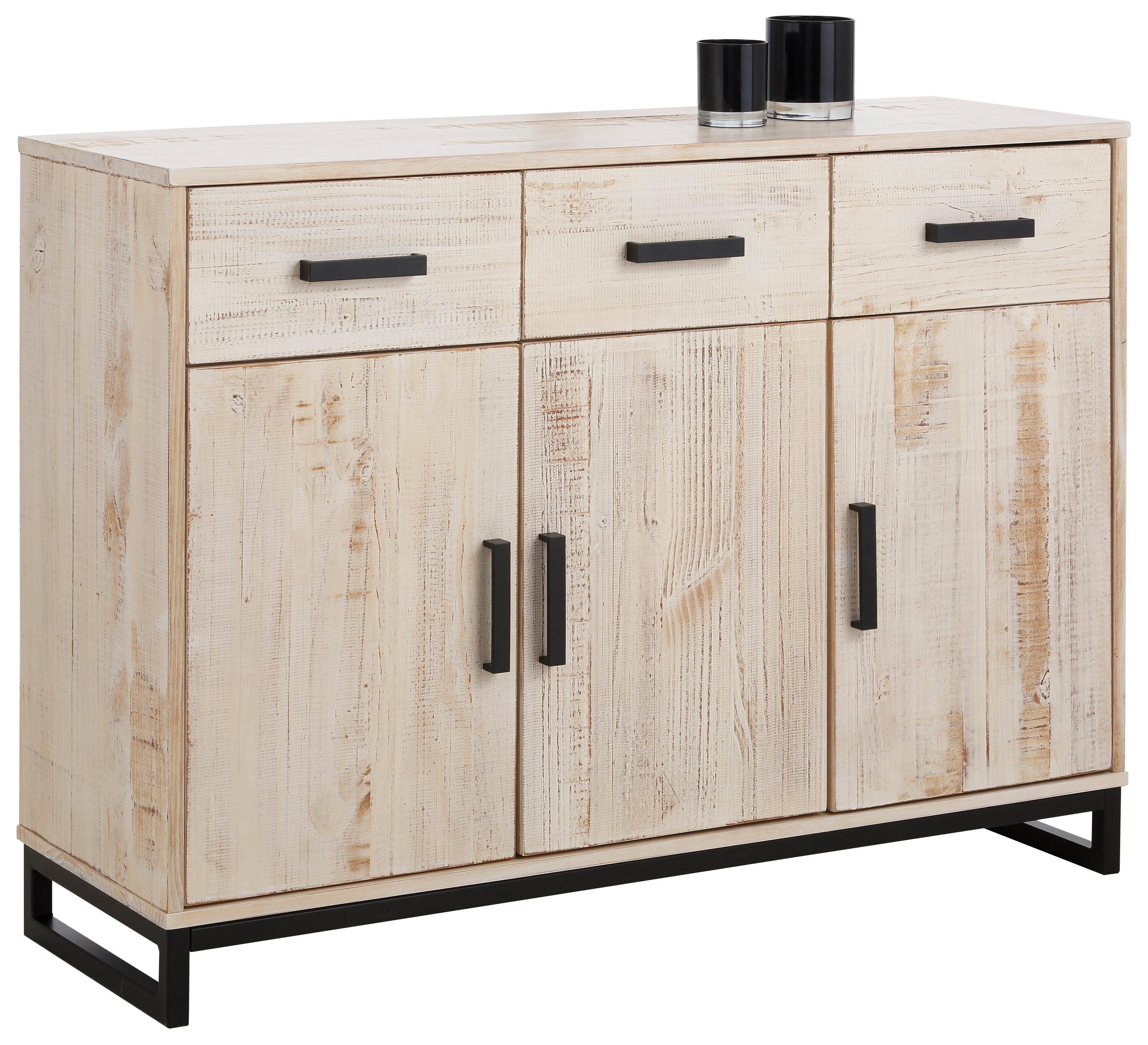 Home affaire Sideboard (3trg.) »Santo«, Breite 120 cm