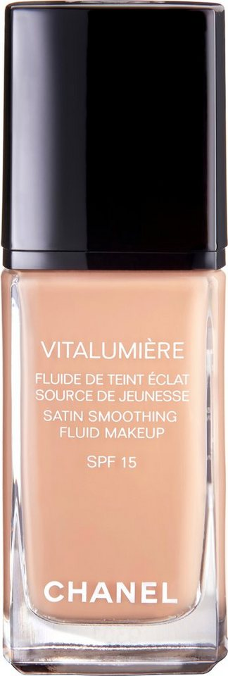 Chanel, »Vitalumière Fluide«, Fluid-Make-up in 25 Pétale